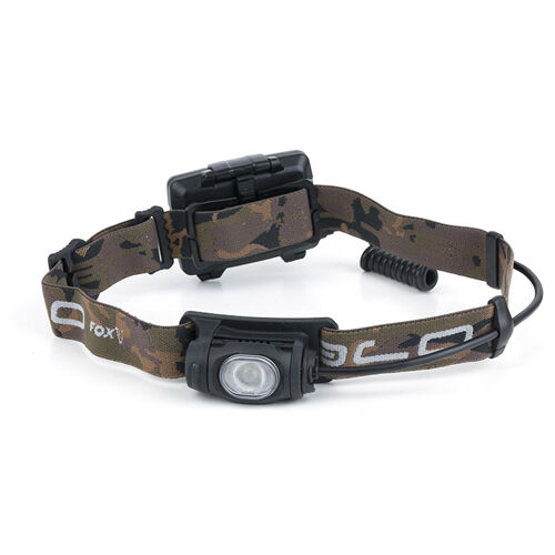 Fox NEW Camo Halo Headtorch AL320 470 Lumens Lamp Light Inc Batteries - CEI164