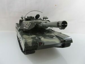 Intelligent Amewi Char U.s. M1a2 Abrams M 1:16 Olive-camouflage-afficher Le Titre D'origine ProcéDéS De Teinture Minutieux