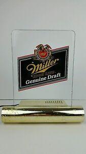 Vintage miller high life genuine draft beer acrylic light up bar image is loading vintage miller high life genuine draft beer acrylic aloadofball Choice Image