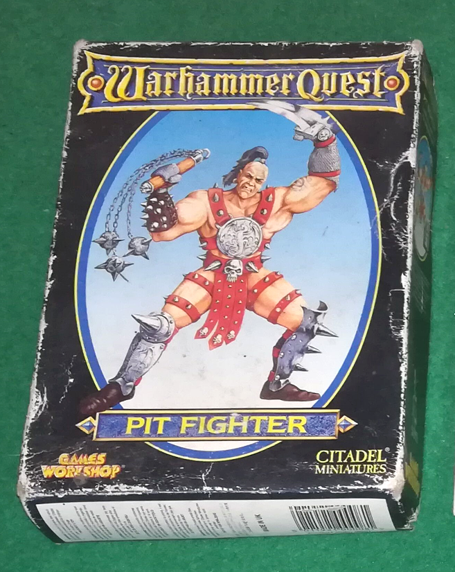WARHAMMER QUEST - Pit Fighter - GAMES WORKSHOP