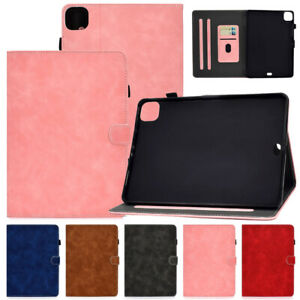 Magnetic Flip PU Leather Smart Wallet Case Cover with Card Slot Holder for iPad