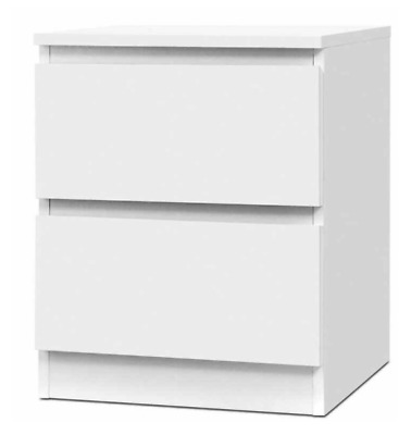 Details about  ✨Artiss Bedside Table Drawers Side Table Bedroom Furniture Nightstand White Lamp