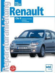 Renault-Clio-2-Reparaturbuch-Reparaturanleitung-Jetzt-helfe-ich-mir-selbst-Buch