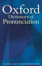 Oxford Dictionary of Pronunciation for Current English Upton, Clive, Kretzschma