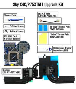 CLEVO P750TM1-G: NVIDIA RTX 2080; 8GB DDR6; MXM 3.1;100x124mm;GPU UPGRADE KIT;