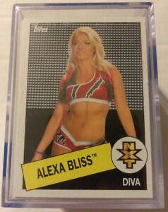 WWE-2015-Topps-Heritage-110-Card-Base-Set-John-Cena-Daniel-Bryan-Alexa-Bliss