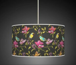 BIRDS FLORAL PINK GREEN  HANDMADE LAMPSHADE CEILING TABLE FLOOR LAMP 940 - Glasgow, Glasgow (City of), United Kingdom - Returns accepted Most purchases from business sellers are protected by the Consumer Contract Regulations 2013 which give you the right to cancel the purchase within 14 days after the day you receive the item. F - Glasgow, Glasgow (City of), United Kingdom