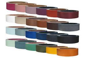 Lederriemen-Rindsleder-034-Pull-Up-034-in-vielen-Farben-Guertelleder-Lederstreifen