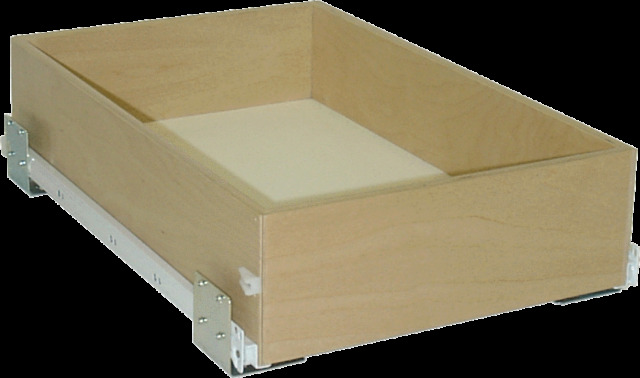 "Medium high 4 7/8"" tall 13"" x 18"" pull out rolling shelves that slide glide"