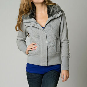Jacket Girl Compressor Racing Gray Fox Heather wzxpn
