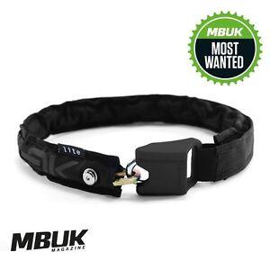 Hiplok Lite Wearable Chain Lock 6 mm x 75 cm-Waist 24-44 Inches Black  </span>