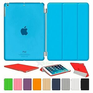 New-Smart-Case-Cover-Stand-Magnetic-Slim-Leather-For-Apple-iPad-Air-4-3-2-Mini
