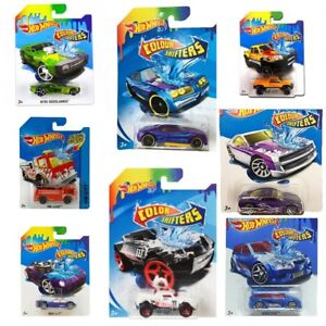 Nuevo-2019-Hot-Wheels-cambios-de-color-BHR15-elija-su-modelo-1-64-Surtido