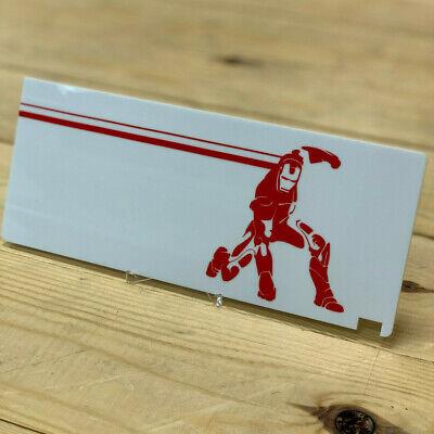 Single Layer Acrylic with Vinyl//Laser Etching Custom GPU Backplate