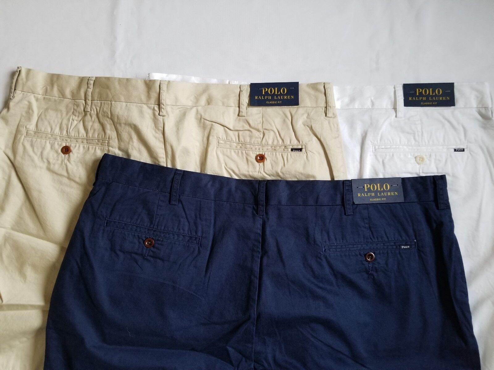 Polo Ralph Lauren Men's Classic Fit Lightweight Cotton Shorts Pants Great Gift