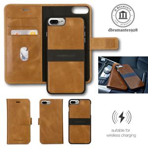 Dbramante-1928-Lynge-2-Genuine-Leather-Folio-Wallet-flip-case-pour-iPhone-8-Plus