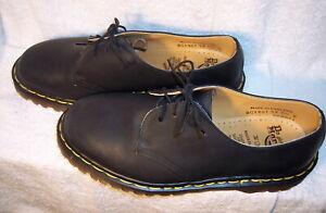 best new collection new lifestyle Details about Vintage (pre-2003) Dr. Martens (sz 9 US) BG 1461/59 Black  Quilon Leather Shoes