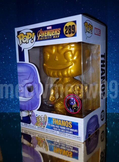 The Avengers Infinity War Metallic GOLD Thanos Pop Vinyl Figure Funko Custom