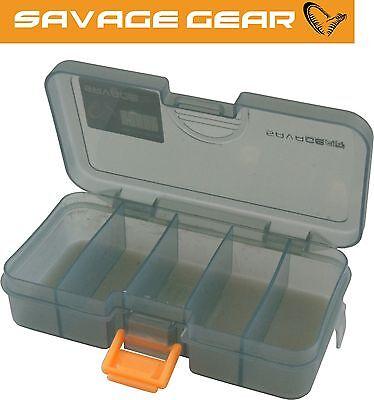 Savage Gear Lure Box Nr.1 13,8x7,7x3,1cm Tacklebox Gummi Wobbler Spinner Blinker