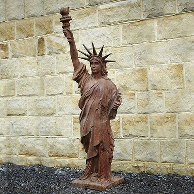 Cast Iron Statue Of Liberty Garden, Statue Of Liberty Garden