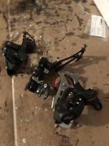 Shimano  6/7-Speed Long Cage Rear Derailleur  Set BROKEN For Parts!!!
