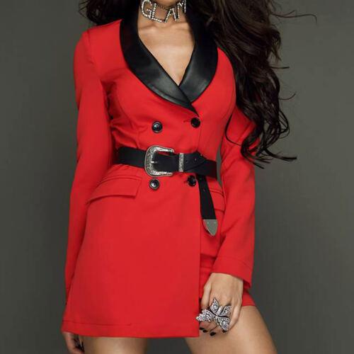 By Alina Damenoverall Jumsuit Business Overall Blazer Hosenanzug Hosenrock XS-M