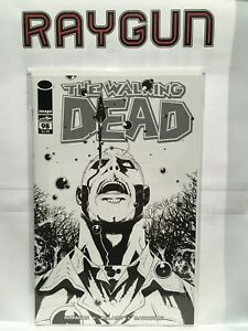 Image Comics THE WALKING DEAD #98 B/&W variant 15 Year Anniversary