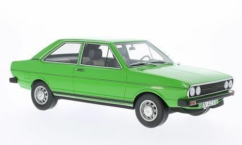 BoS 1973 Audi 80 GT Green Metallic Limited Edition of 1000 1:18 Scale. Rare!