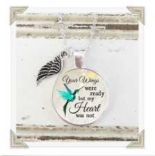Bereavement Indoor Angel Plaque Your Wings Were Ready But My Heart Was Not Gift
