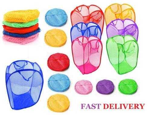 Laundry Bag Pop Up Mesh Washing Foldable Laundry Bag Bin Hamper Storage Lmsh