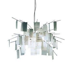 INGO MAURER lampada a sospensione ZETTEL\'Z 5 L 600 cm   eBay