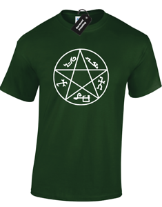 DEVILS-TRAP-MENS-T-SHIRT-SUPERNATURAL-FAN-DESIGN-WINCHESTER-SAM-DEAN-CASTIEL