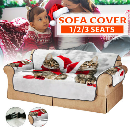 Sofa Cover Seater Couch Covers Lounge Protector Pet Kids Slipcover Mat Chirtsmas
