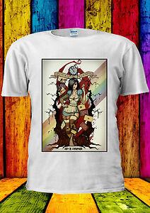 Disney-Alice-Wonderland-Zombieland-T-shirt-Vest-Tank-Top-Men-Women-Unisex-2260