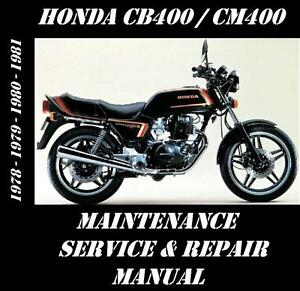 honda cb400 cm400 cb cm 400 service repair maintenance overhaul rh tinyurl com