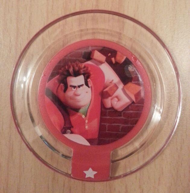 Rare Series 2 Disney Infinity Power Disc #1 Ralph's Power of Destruction
