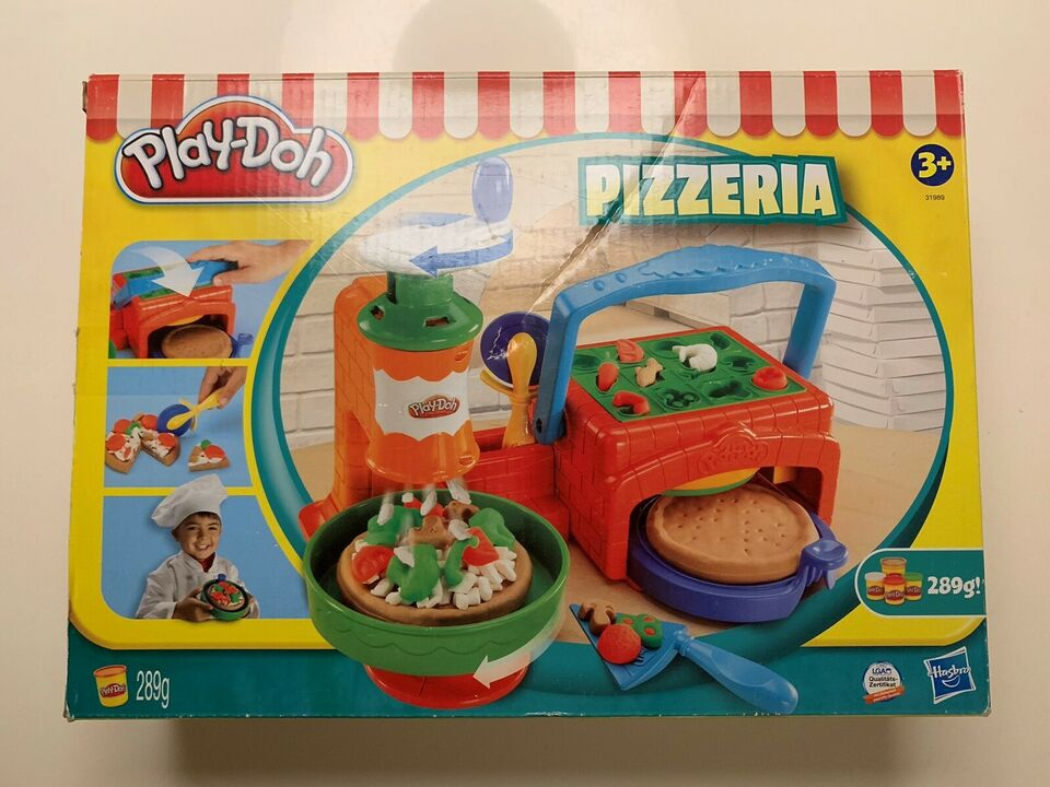 Modellervoks, Pizzaria til modellervoks, Play-doh