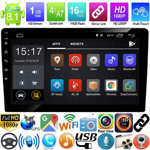 10-1inch-2Din-Quad-Core-Android-8-1-GPS-Navi-WiFi-Car-Stereo-MP5-Player-FM-Radio