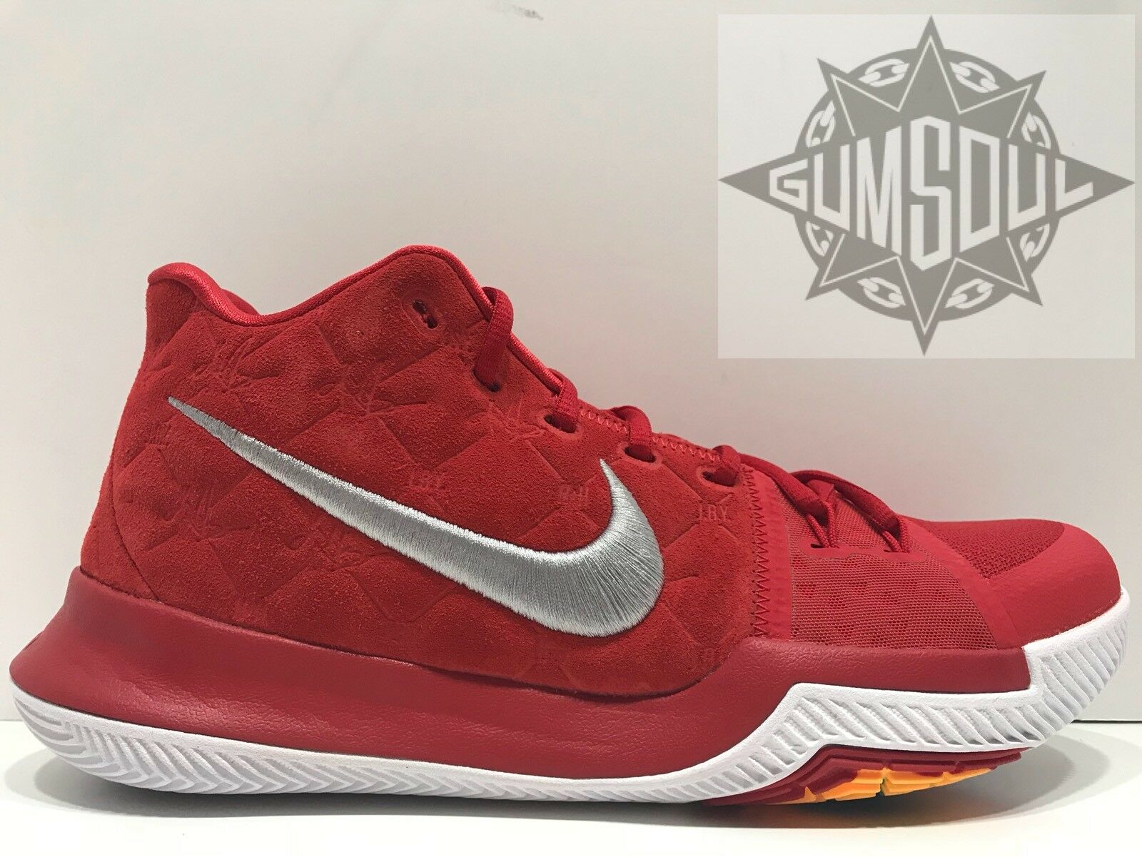NIKE KYRIE 3 UNIVERSITY RED WHITE IRVING 852395 601 sz 13