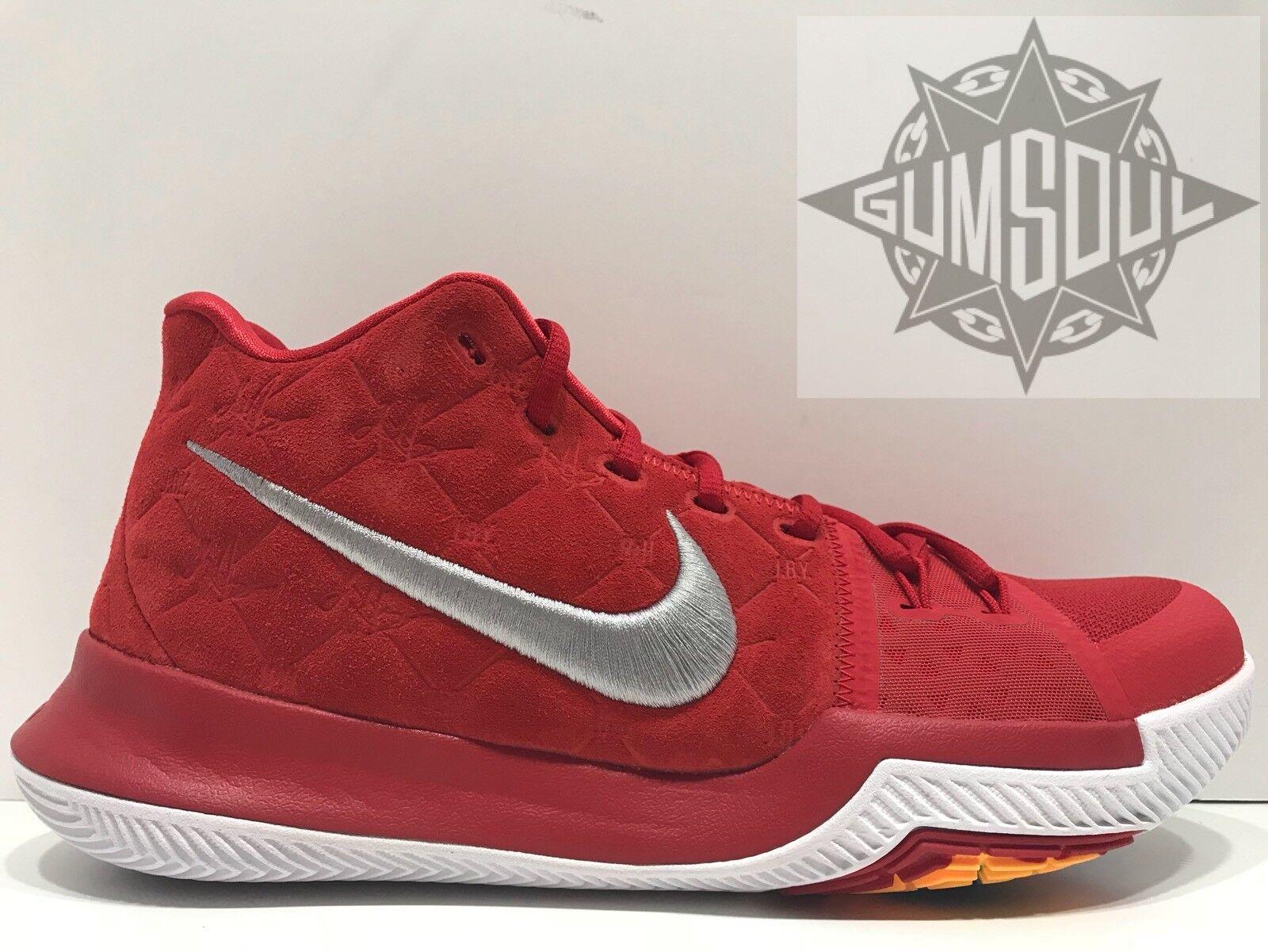 los angeles 828f8 e452c Nike kyrie 3 universit rosso - - - bianco - irving 852395 601 sz 10,
