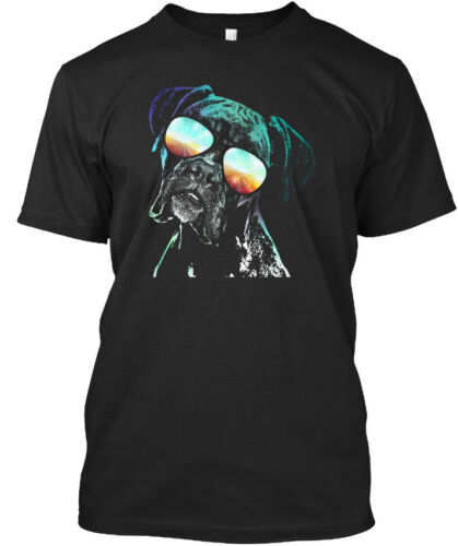Boxer Chien Fluo Standard Unisexe T-Shirt
