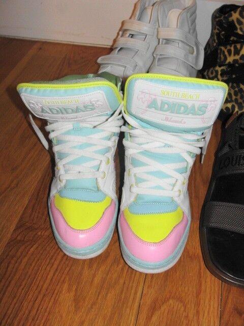 Jeremy Scott for Adidas Miami Beach Sneakers