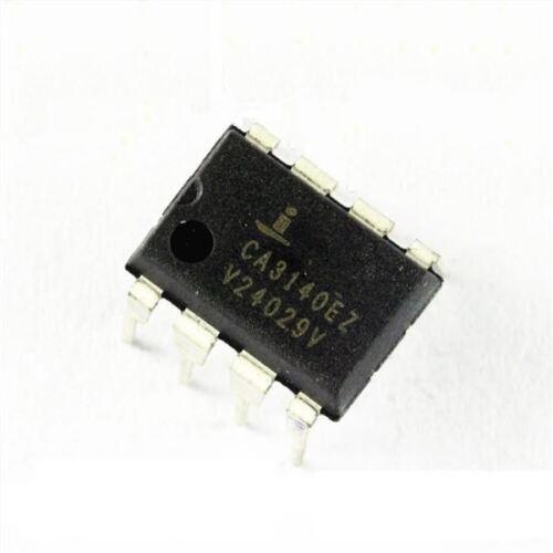2Pcs CA3140 CA3140EZ Opamp Gp 4.5MHZ 8Dip op