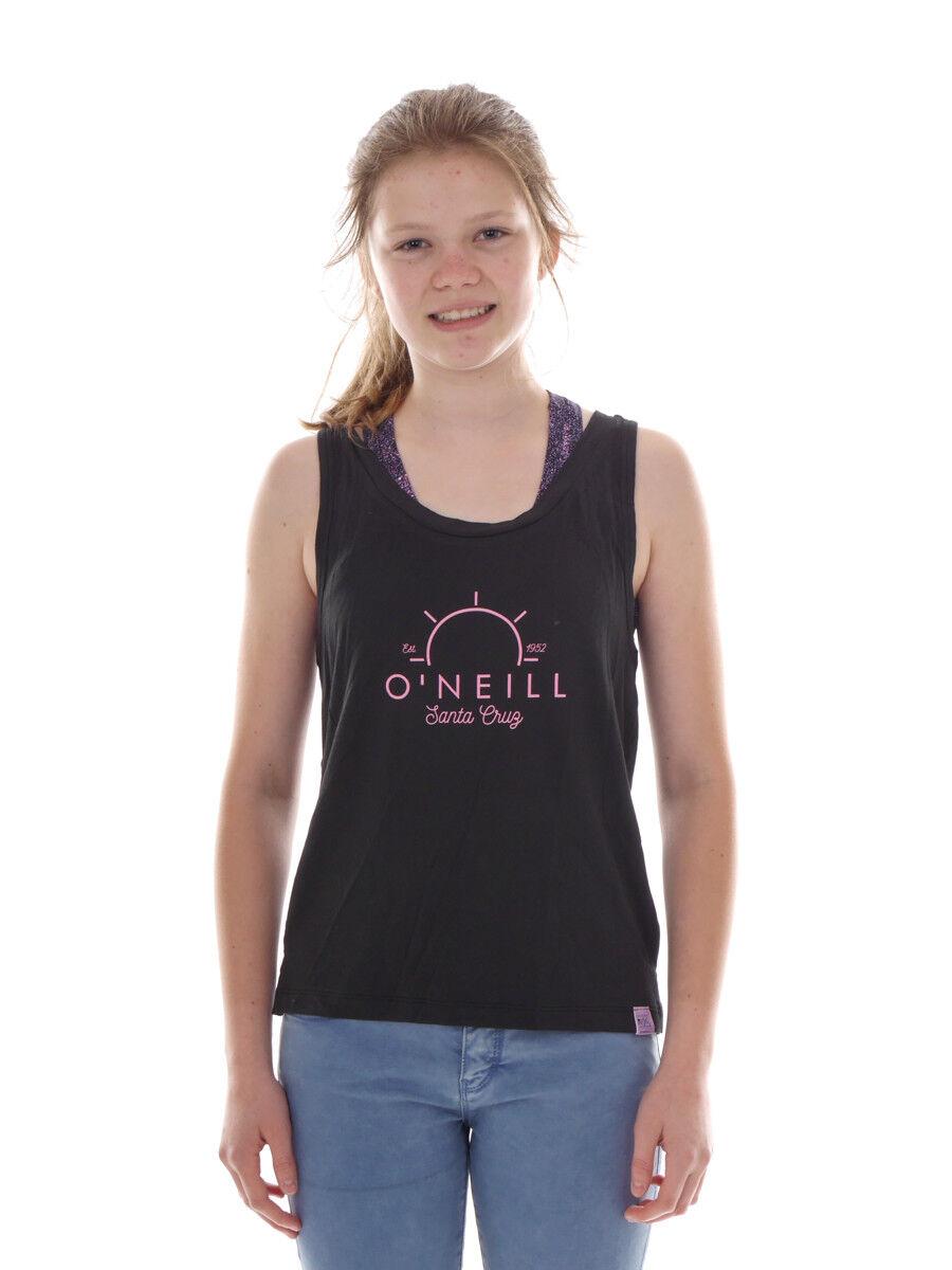 O` stampa Neill camicia funzionale Bustino Top Active nero stampa O` logo elastico ae9daa