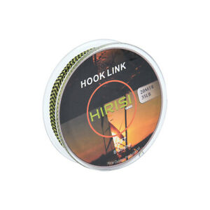 Carp-Fishing-Line-Braided-Hook-Link-8-String-20m-For-Coarse-Carp-Fishing-Tac-Ut