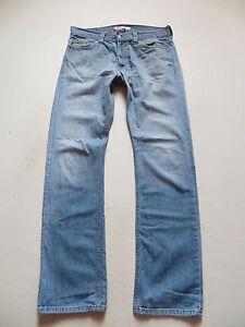 Levi-039-s-506-Jeans-Hose-W-36-L-36-Authentische-Gebrauchsspuren-Einzigartig