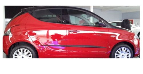 Moulding Side Protector Door Protection for Lancia Ypsilon Hatchb//5-doors 2012