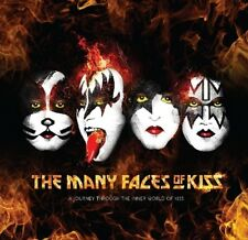 The Many Faces of Kiss Eric Singer Angel Vinnie Vincent Gene Simmons 3cds