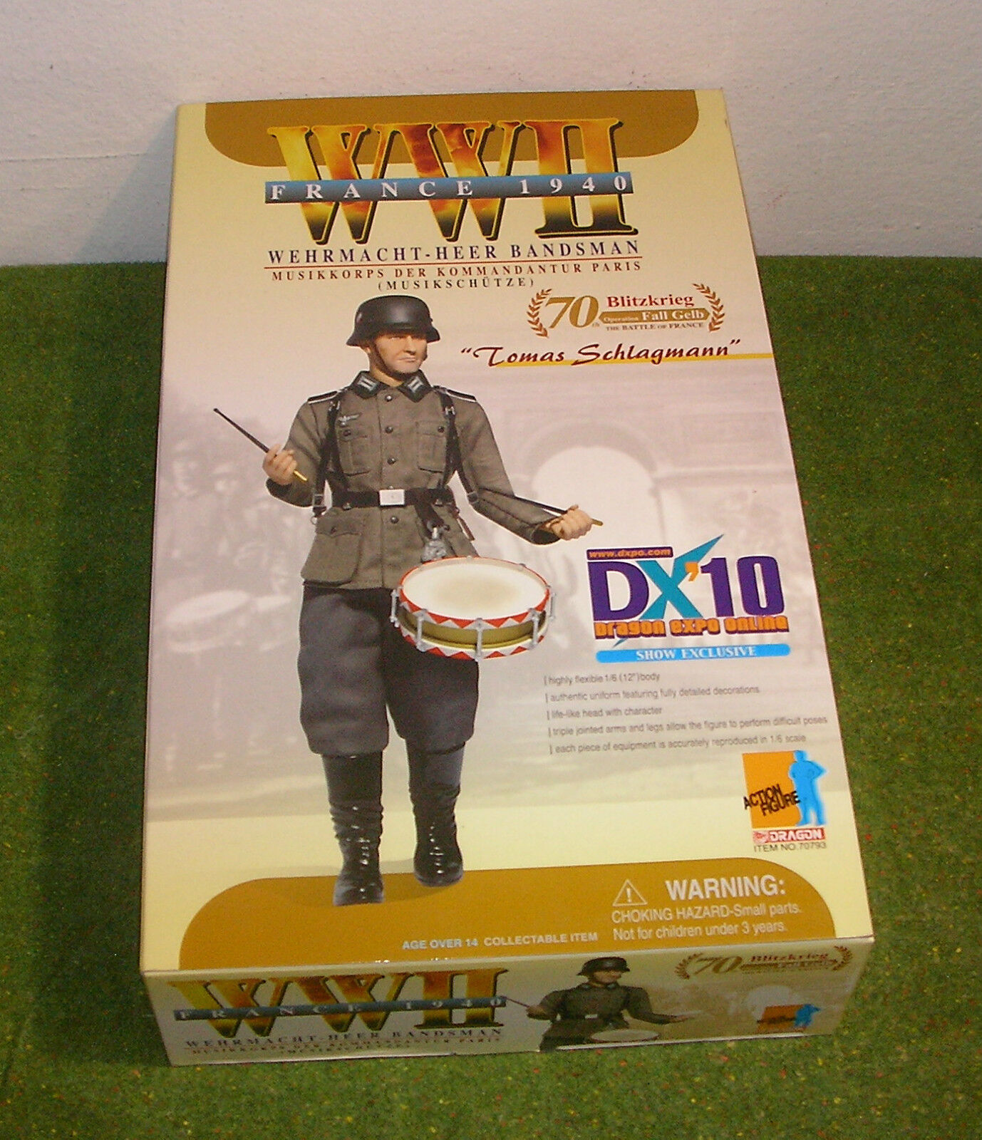DRAGON 1 6 SCALE WW II GERMAN DX 10 10 10 DRAGON EXPO ONLINE - Tomas Schlagmann 25e9e7