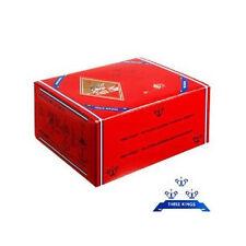 100 x Three Kings 33mm Shisha Wasserpfeife Kohlen BOX